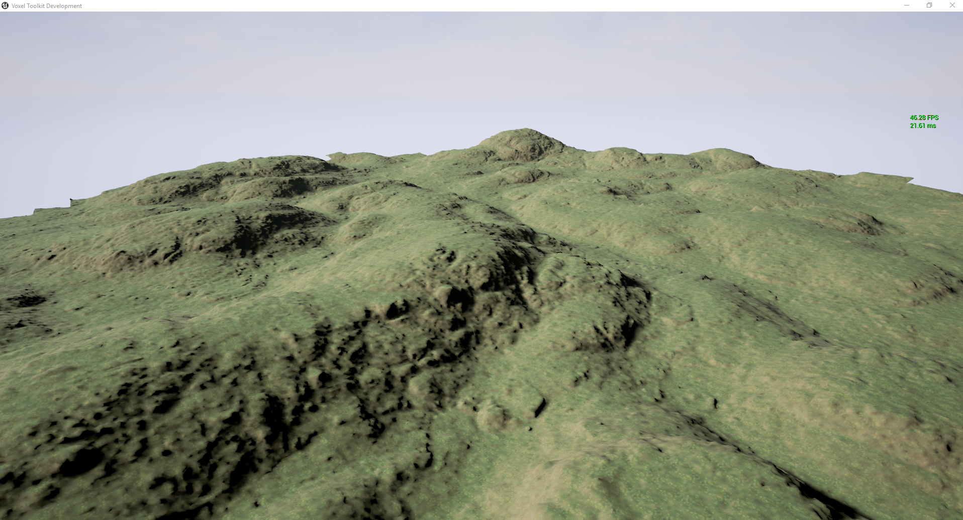 VoxelEngine - Low Rolling Hills