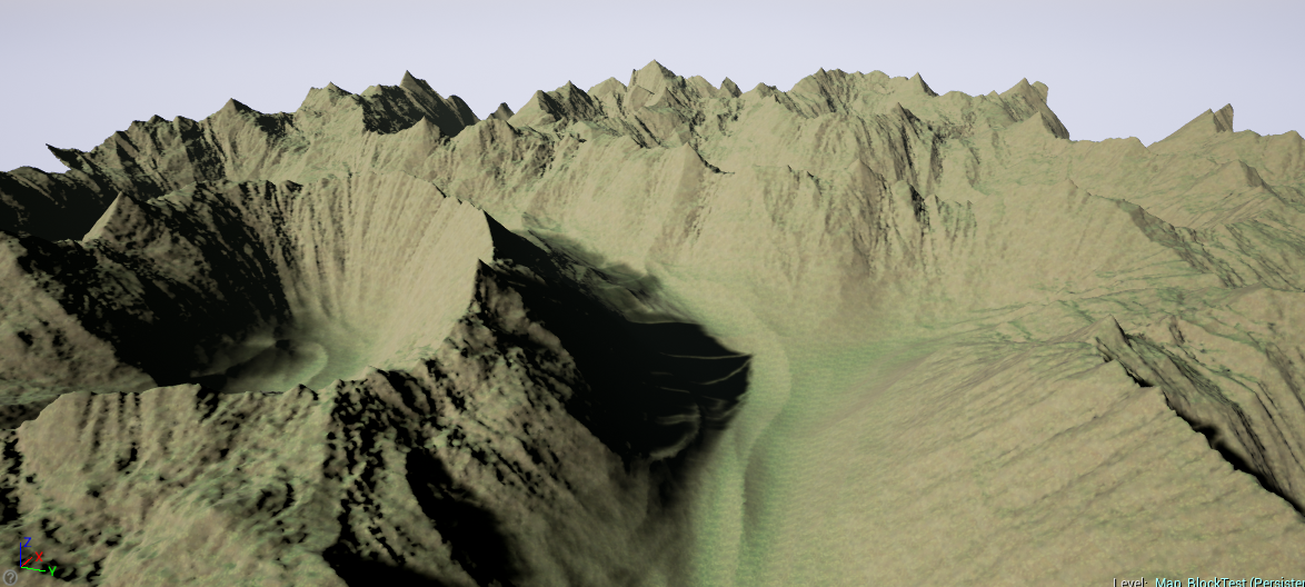 VoxelEngine - Hilly Terrain